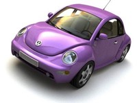 volkswagen lightwave 3d model