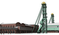westphalia colliery 3d model