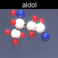 maya molecule aldol