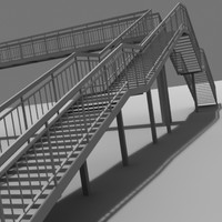 Steel Footbridge
