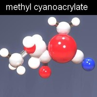 max molecule methyl cyanoacrylate