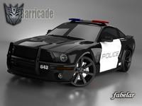 Shelby GT500 Barricade
