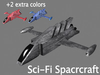 space spacecraft 3d model
