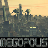 megopolis cityscape city 3d model