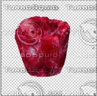 red broken jewl 3d model