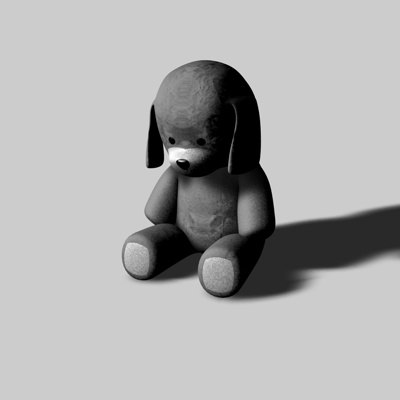 dog toy 3d model - Toy Dog... by jpwood78