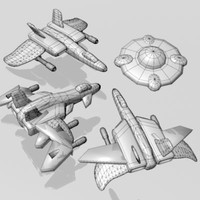 Object Pack Space Shooter