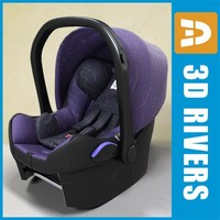Purple Infant car seat by 3DRivers