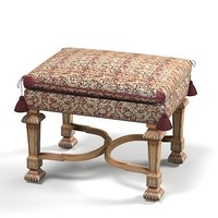 classic tabouret madiran classical bench pouf