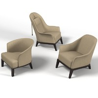 Giorgetti Normal Chair Armchair Set