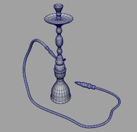 tobacco hookah 3d model