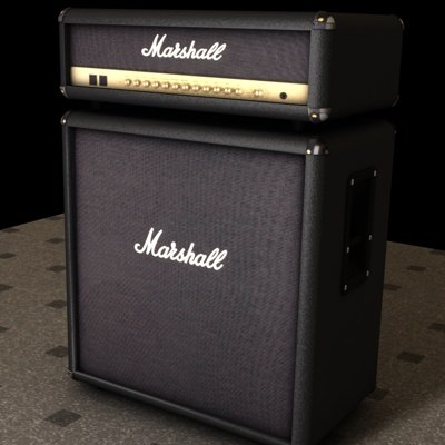 marshall speaker 3d model. Black Bedroom Furniture Sets. Home Design Ideas