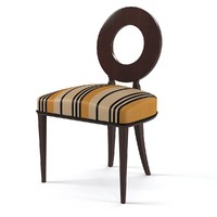 Tura Classic Art Deco dining chair