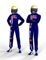 F1 Driver Buemi