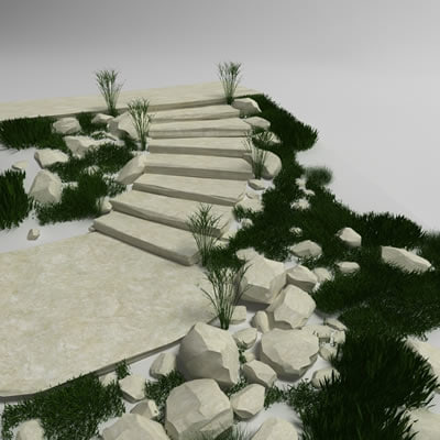 Stair stone 02