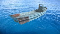 daihatsu landing craft 3d model