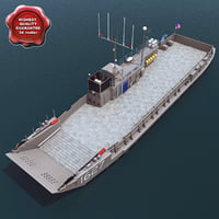 3ds max landing craft utility lcu