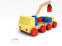IKEA - MULA Crane with blocks