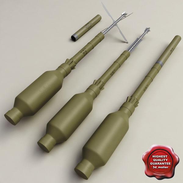 RPG Grenade TBG-7V