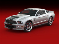 2010 mustang shelby gt500 3ds