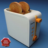 3d toaster philips model