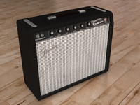 fender amplifier 3d model