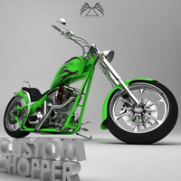 Custom Chopper 03