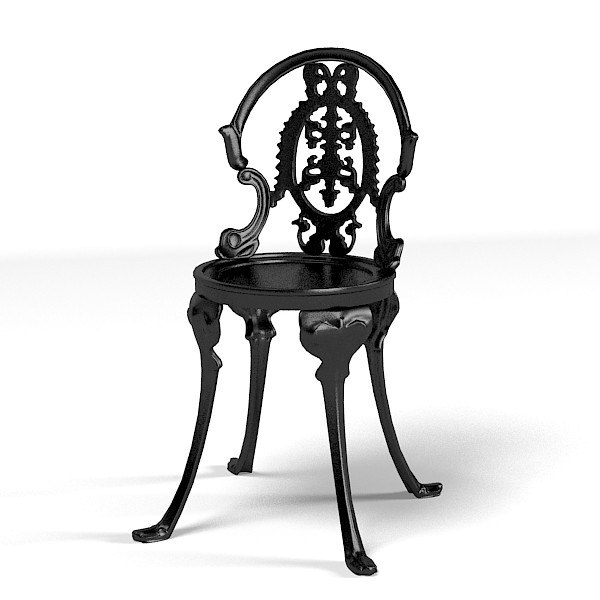 chair classic iron metal french forged.jpg