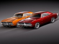 Dodge Charger 1969 RT - General Lee