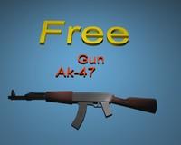 free 3ds model gun