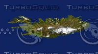 iceland maps 3d model