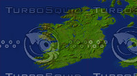 ireland maps 3d model