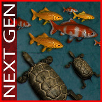 pack_koi_fish_turtle_pond.rar
