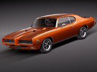 Pontiac GTO 1969 THE JUDGE