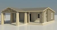 3d 3ds house exterior