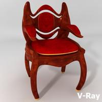 Fantasy Victorian Chair