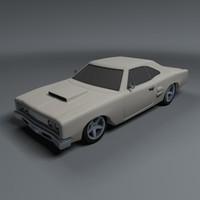 Classic Car C4D