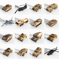 16 Military Vehicles