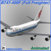 B747-400F Air China Cargo