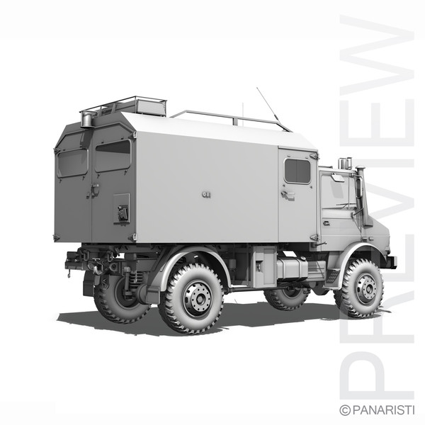 Mercedes Benz Unimog U1300L Ambulance