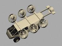 concept van 3d model