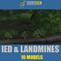 IED and Landmines collection