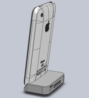 iPhone 3G Dock in SolidWorks