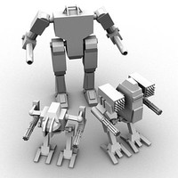 Mecha Object Pack