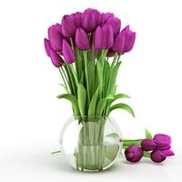 Tulips violet