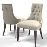 Baker dining chair 7841 thomas pheasant modern