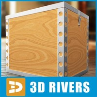 box container storage 3d max