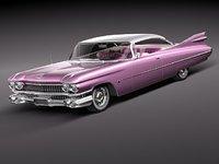Cadillac Eldorado 62 series 1959 coupe