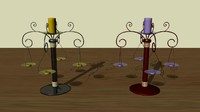 maya candelabrum candles