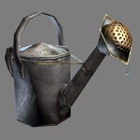 Low Poly Watering Can